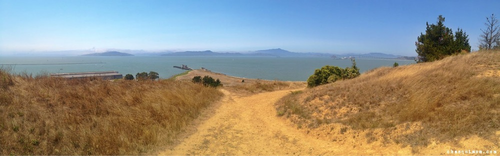 Can you see the tops of Golden Gate Bridge?