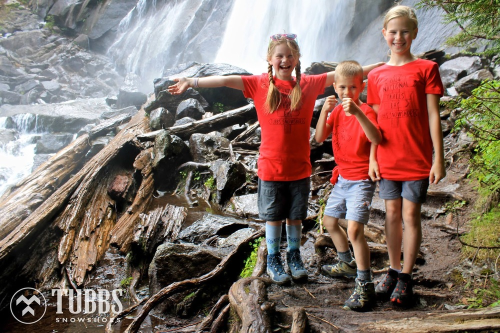 Photo courtesy of Tubbs Snowshoes - Moosefish kids!!