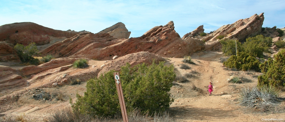 Vasquez Rocks, The Pacific Crest Trail ~ Agua Dulce, California