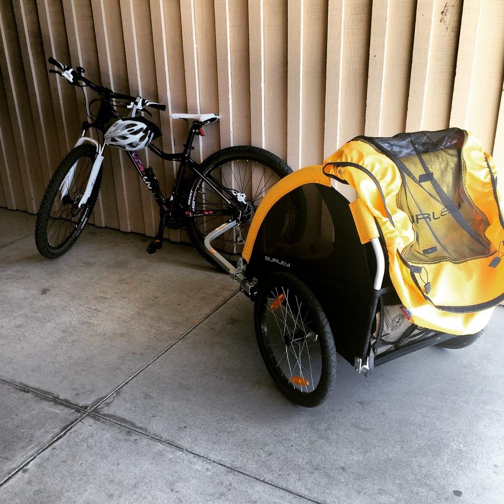 Biking with Multiple Children