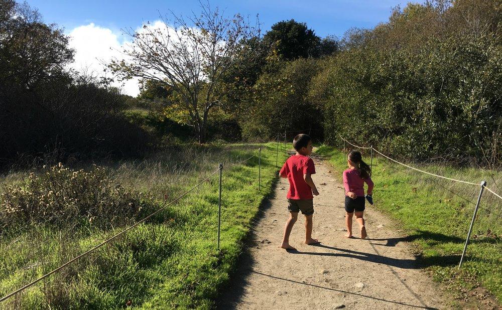 Barefoot Hiking