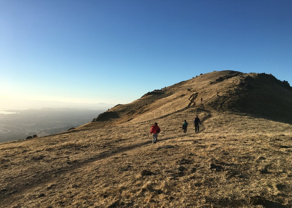 Peak Trail to Mission Peak