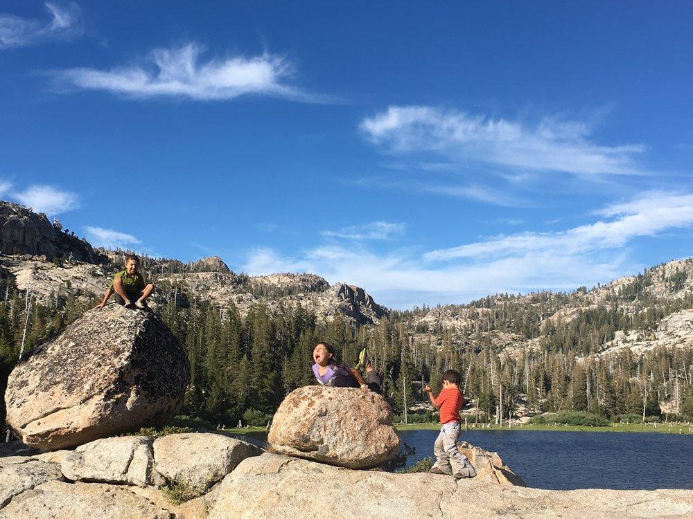 Lake-Side Camping