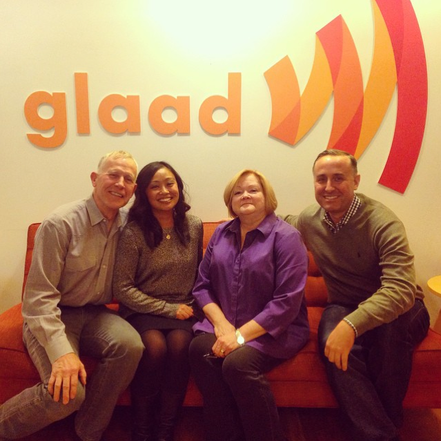 GLAAD Headquarters with Judy & Dennis Shepard