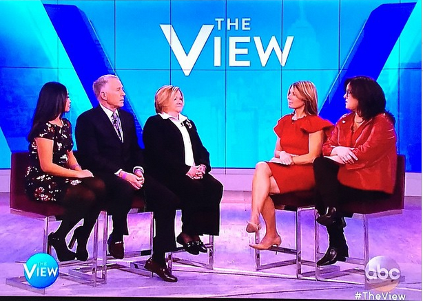 Guest appearance on The View
