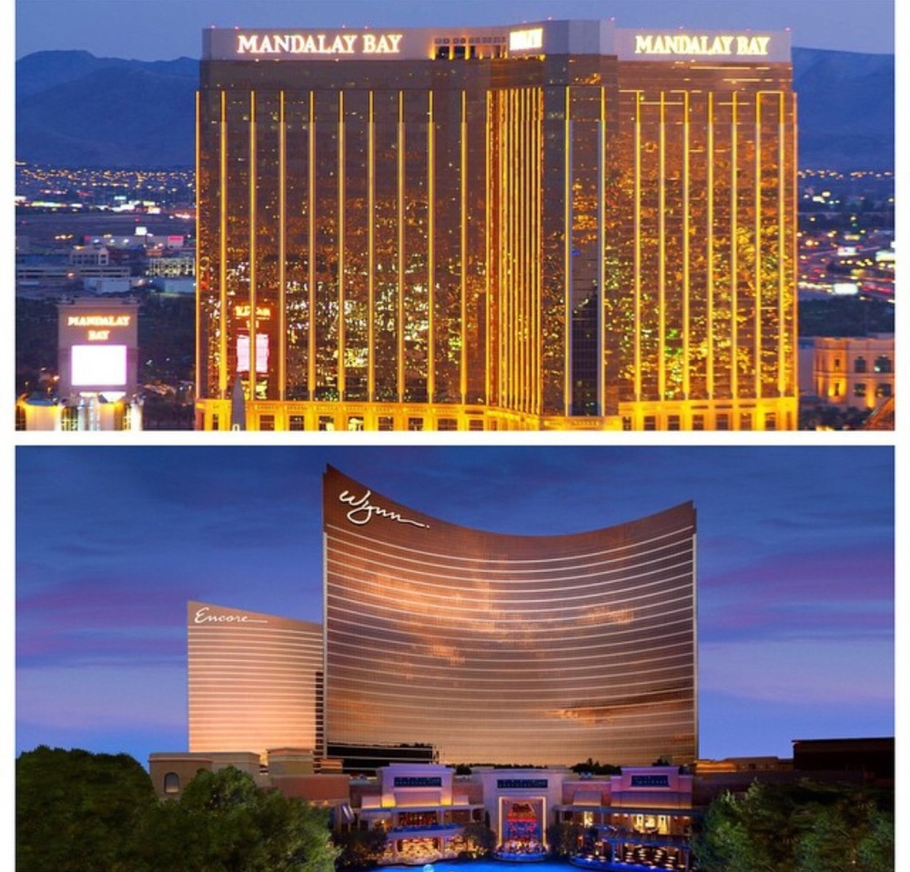 Mandalay Bay and Wynn where JCK Las Vegas and Couture Las Vegas 2015 were held