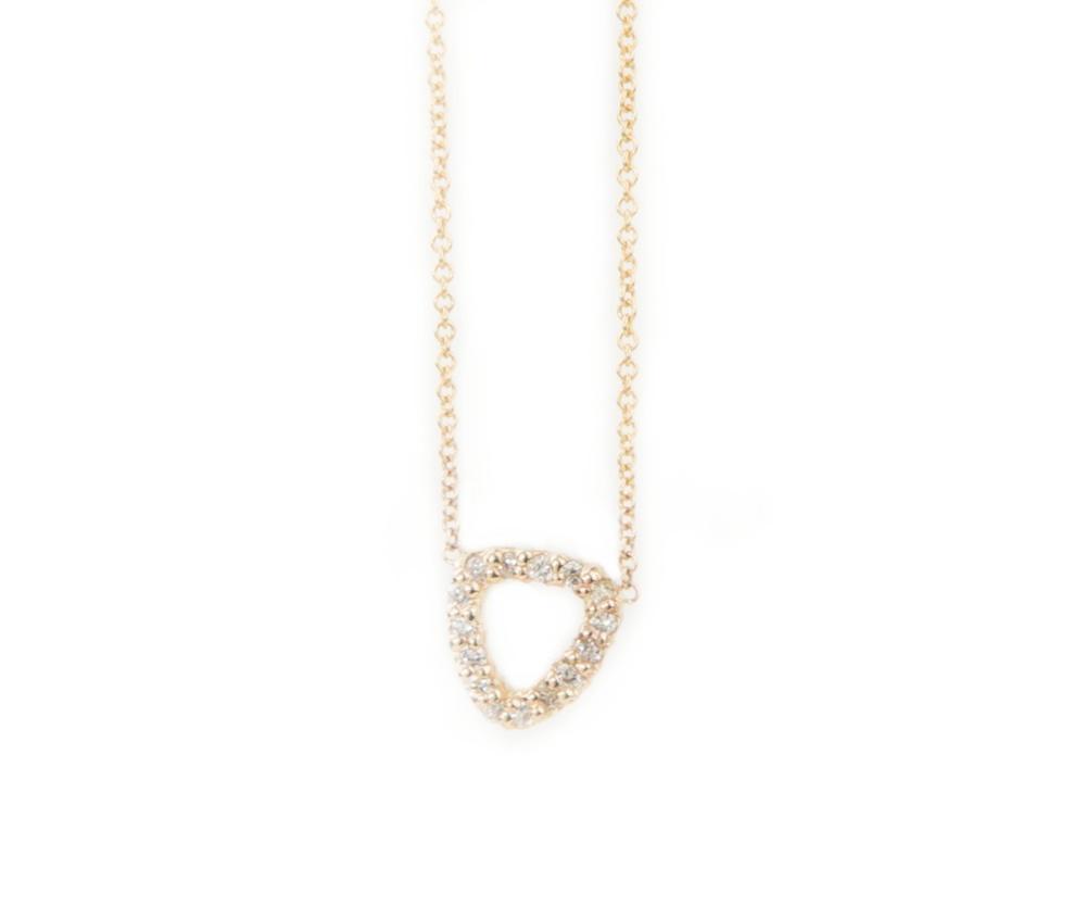 Moorea Diamond Pendant by Kate Alexandra