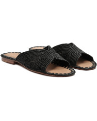Carrie Forbes Handwoven Salon Slide Sandals