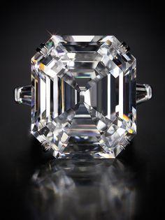 Krupp Diamond / Elizabeth Taylor Diamond, 33.19 Carat GIA Certified Stone