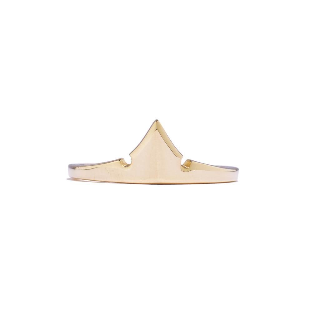 Tiffany Chou Aurora's Crown Ring, 14k Gold,TiffanyChou.com
