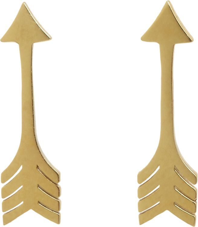 Jennifer Meyer 18K Arrow Stud Earrings, Barneys New York, $375