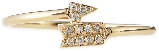 Sydney Evan 14K Yellow Gold and Diamond Arrow Ring, Neiman Marcus, $595