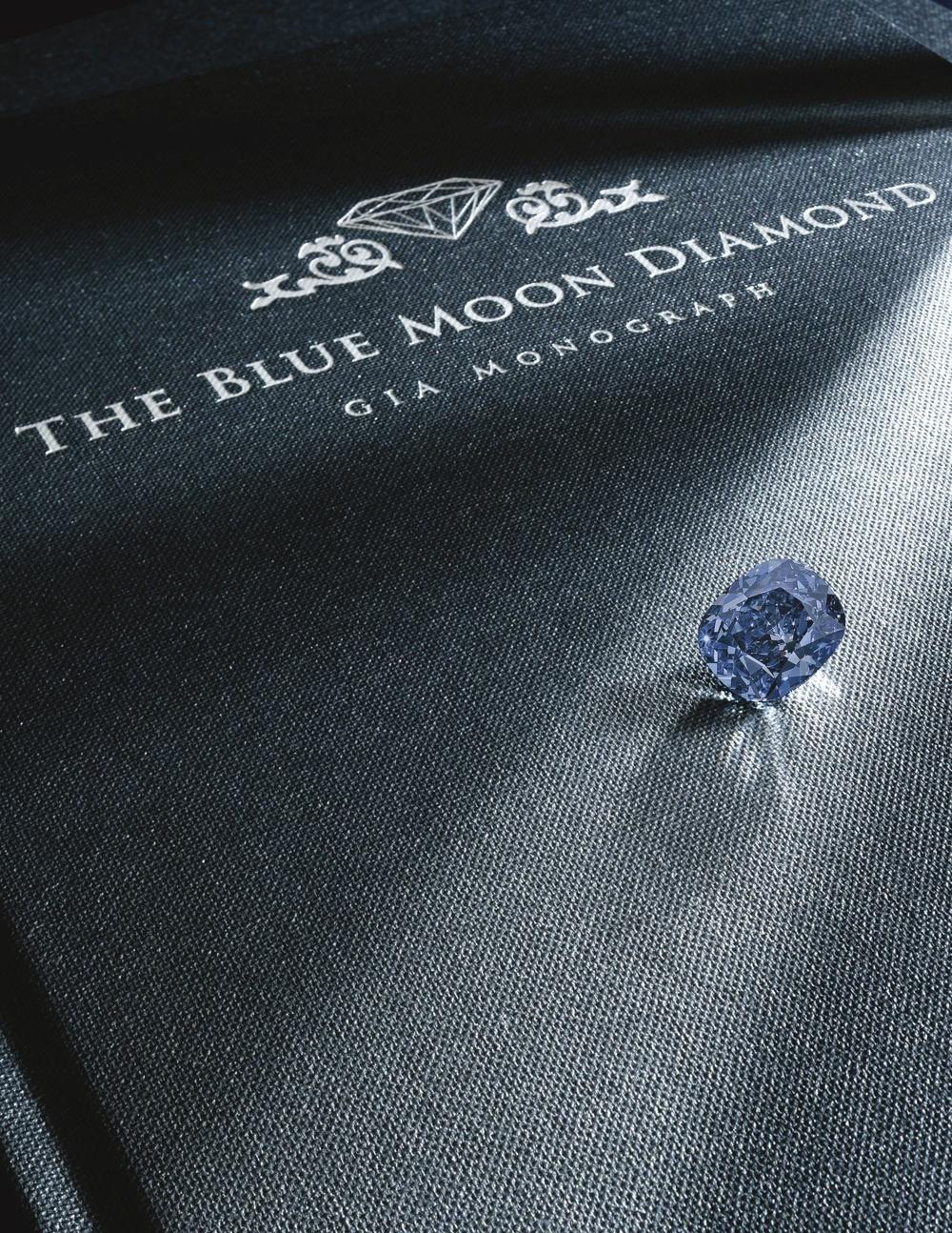 The Blue Moon Diamond, PHOTO: Sotheby's
