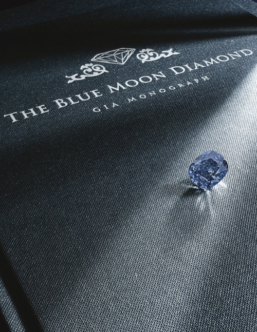 The Blue Moon Diamond, PHOTO: Sotheby's