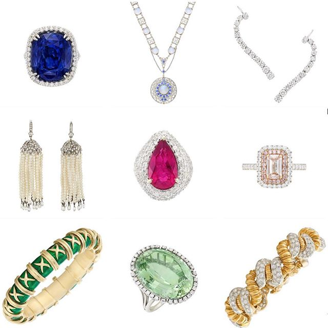 Now up on the blog, our picks from today's auction at @doylebeverlyhills in #beverlyhills ✨💎👌🏻💍👑