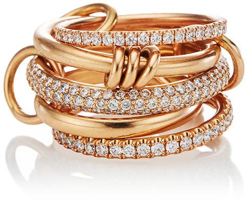 Spinelli Kilcollin Venus Pavé Linked Ring, Moda Operandi, $12,700