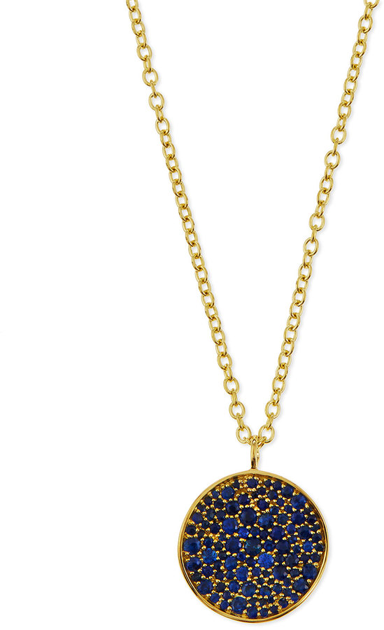 Ippolita 18K Glamazon Stardust Flower Necklace with Blue Sapphires, Neiman Marcus $2,295