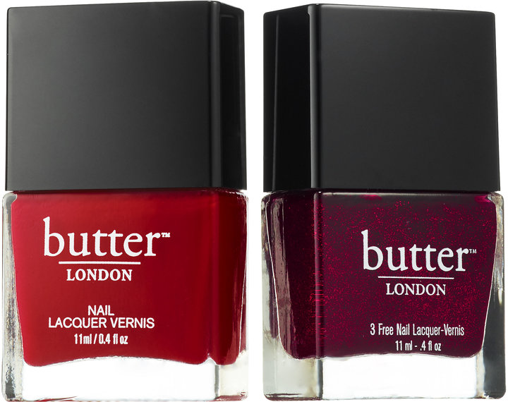 Butter London Red Haute 2-Piece Nail Lacquer Duo, Sephora, $15