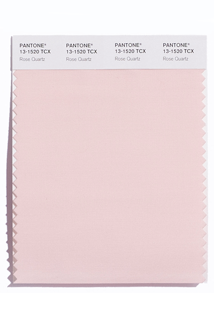 Pantone 2016 Color Rose Quartz, PHOTO: Pantone