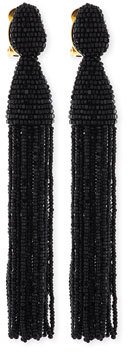 Oscar De La Renta Beaded Tassel Earrings, Bergdorf Goodman