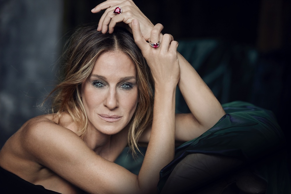 Sarah Jessica Parker in Kat Florence Jewels to be Auctioned June 12th, 2016 in Hong Kong.