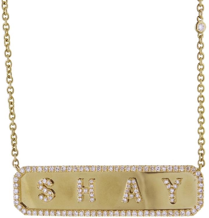 Shay diamond necklace