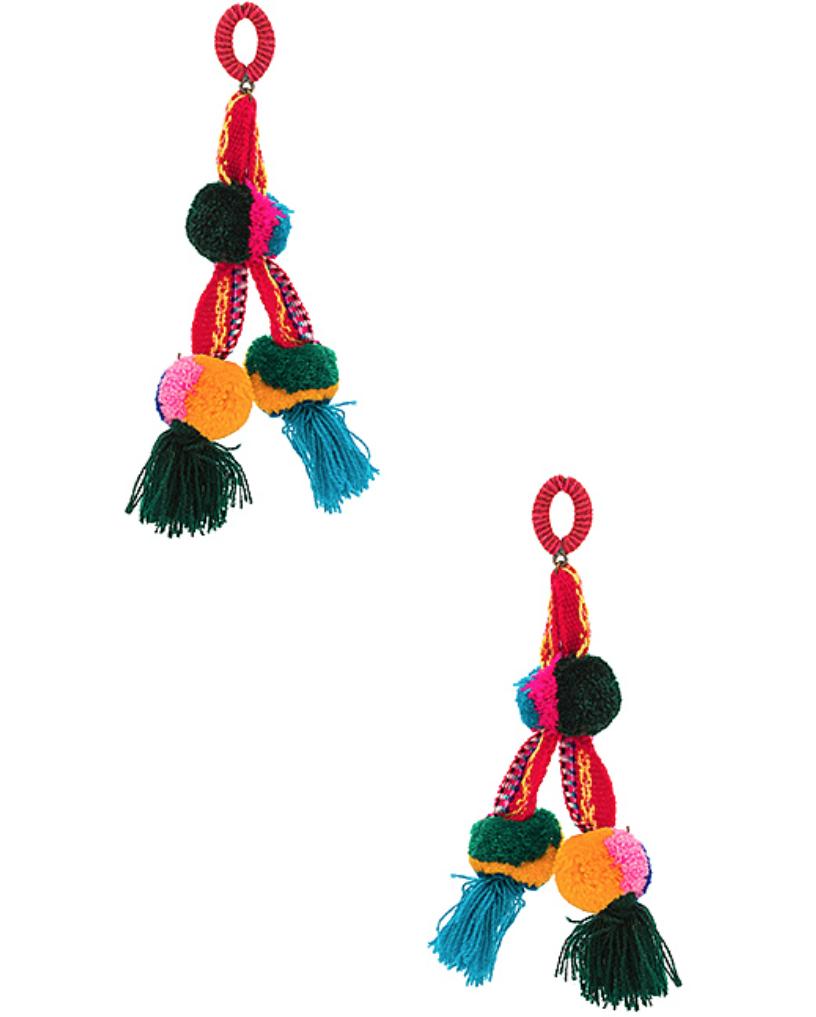 Nannacay Killa Earrings, $97