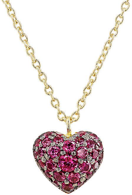 FINN WOMEN'S PUFFED HEART PENDANT NECKLACE, $1725