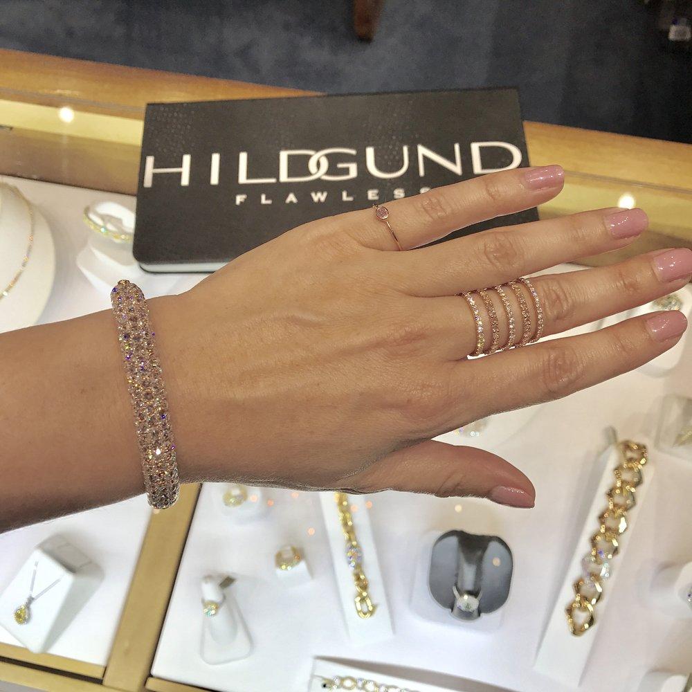 Diamonds at Hildgund Jewels Hawaii, Four Seasons Resort Wailea (Pinky Ring: Kate Alexandra Jewelry)