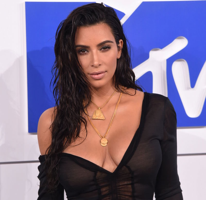 Kim Kardashian at the MTV Video Music Awards 2016