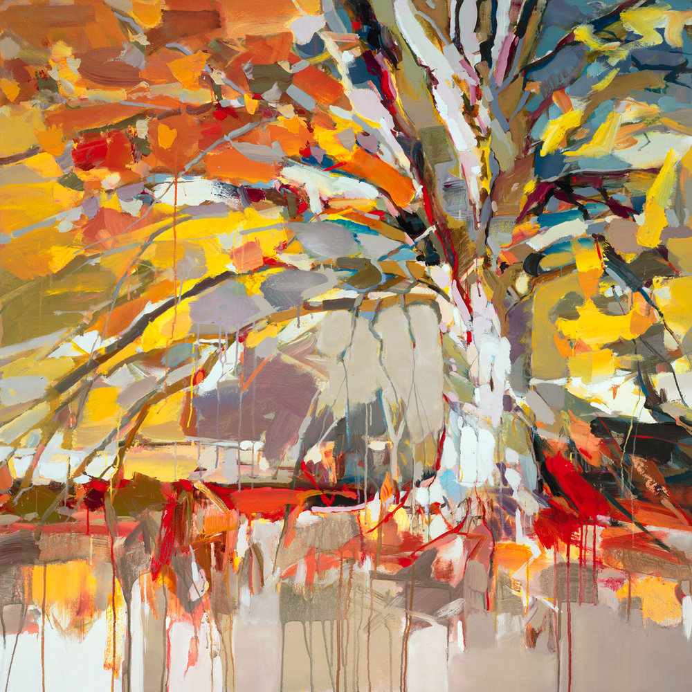Golden Tree by Josef Kote // Dolphin Galleries Inquire