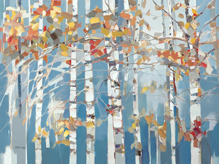 Trees in the Breeze by Josef Kote // Dolphin Galleries Inquire