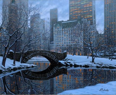 Central Parkby Alexei Butirskiy // Dolphin Galleries Inquire