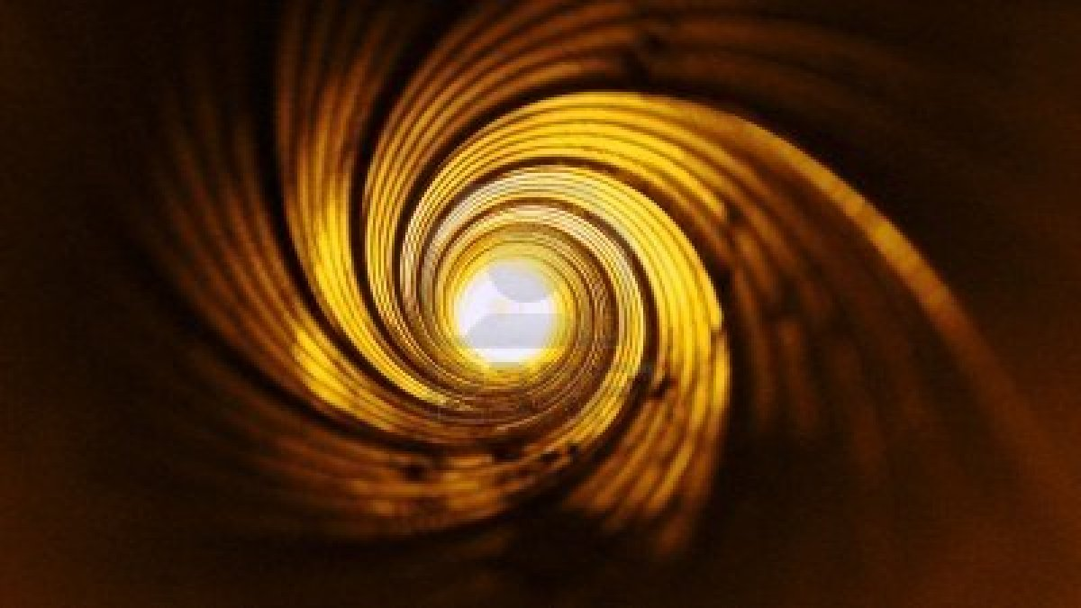 4687756-the-tube-wall-has-spiral--the-vortex-of-life--a-bright-future