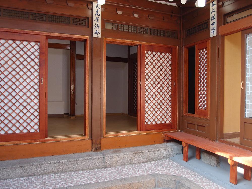 보수 전 마루 Before Reconstruction