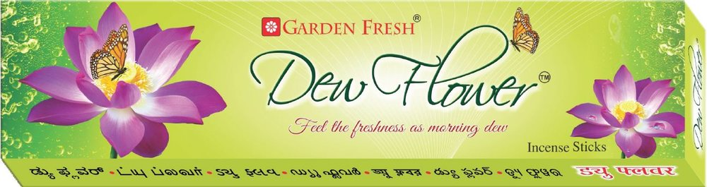 DEW FLOWER - Experience the aroma that recreates the magical fragrance of early morning dew on a fresh flower.Net weight: 20 grams