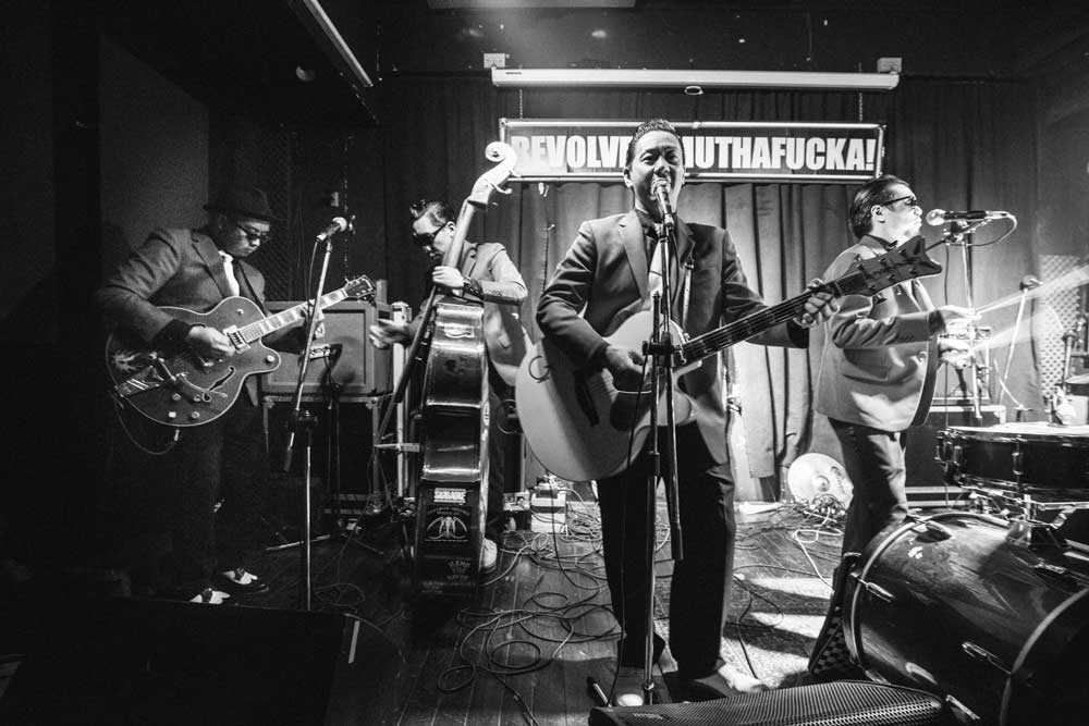 The Boogie Playboys@ Rockabilly Rules The World Tour. Taipei. 2014