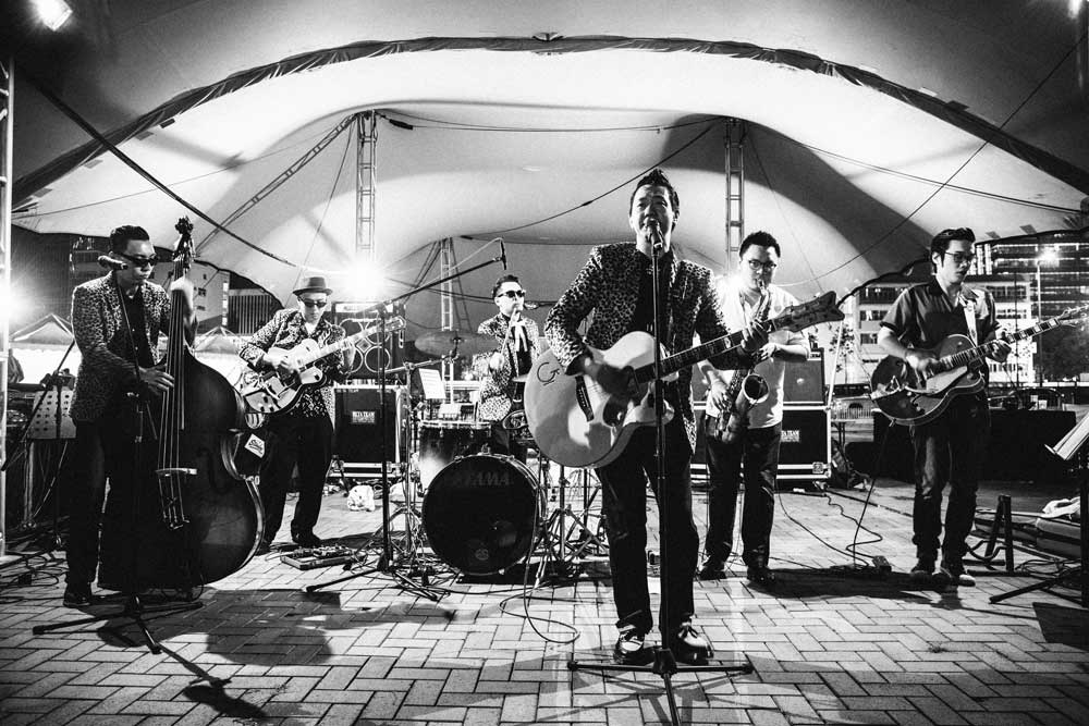 The Boogie Playboys. HK Classic Car Fest. 2014