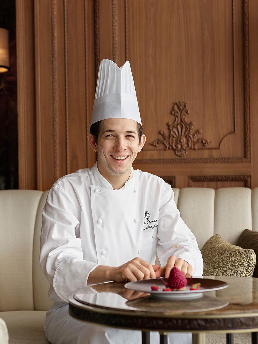 Nicolas Lambert (Pastry Chef of Caprice, Four Seasons Hotel Hong Kong). Hong Kong.