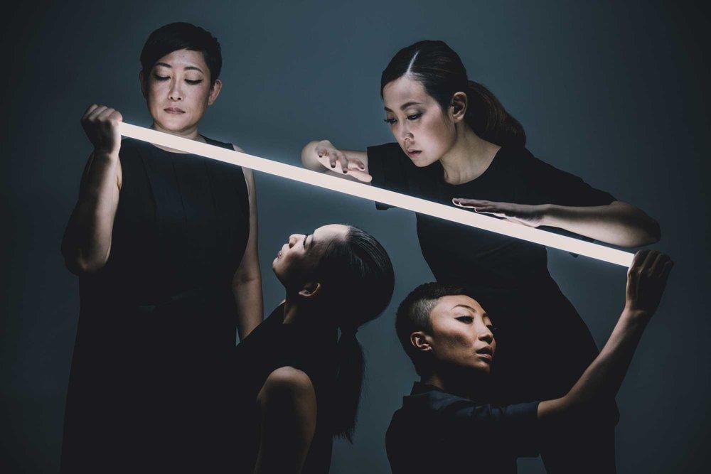 Pretext Quartet. Dance Performance Key Image. Hong Kong. 2016