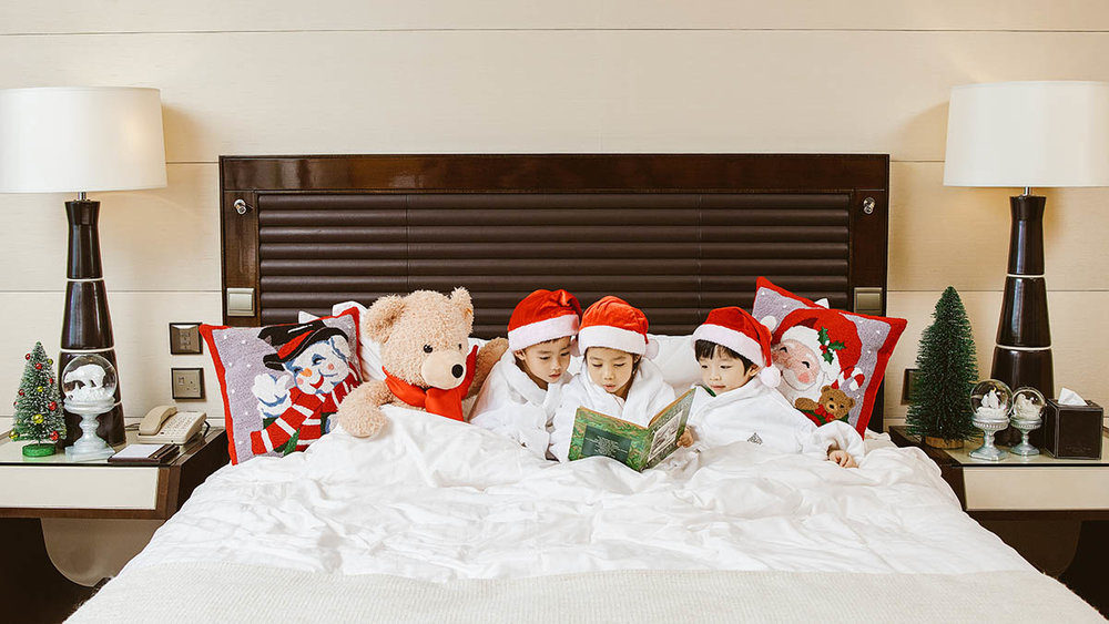 Four Seasons Hotel Hong Kong. Christmas Photoshoot. 2015