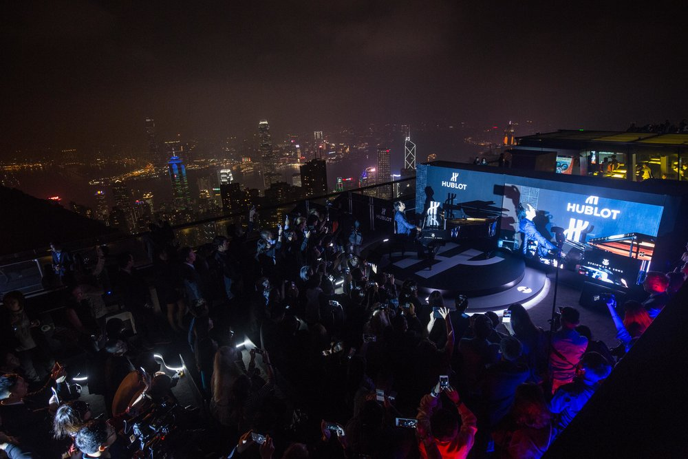 Hublot. Lang Lang 郎朗 Event Hong Kong