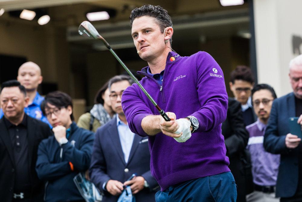 Hublot. Justin Rose Golf Event.