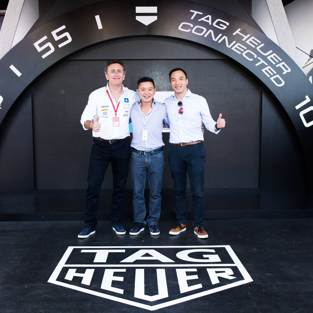 TAG Heuer. Formula E Hong Kong