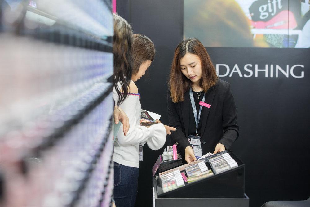 Dashing Diva Exhibition Event (Comsoprof-Asia)
