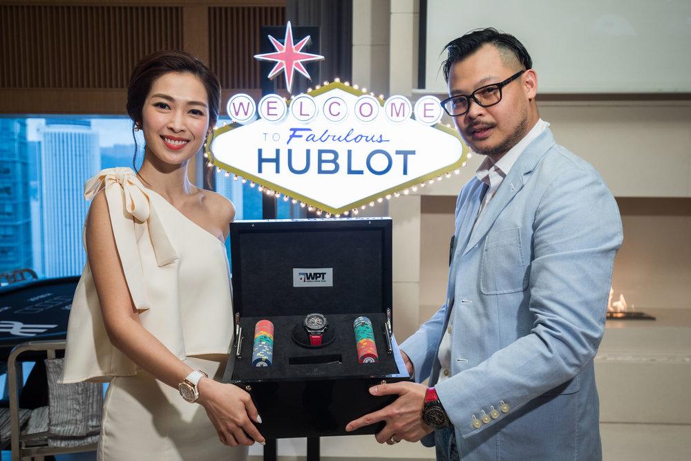Hublot. Eddy Liang. WPT Poker Event.