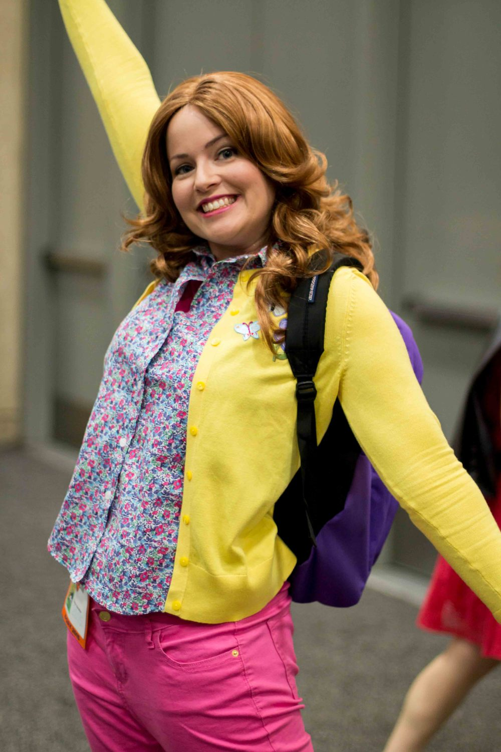 'Cause females are strong as hell. Unbreakable Kimmy Schmidt Cosplay.[ Taken by Oliver Ayala]