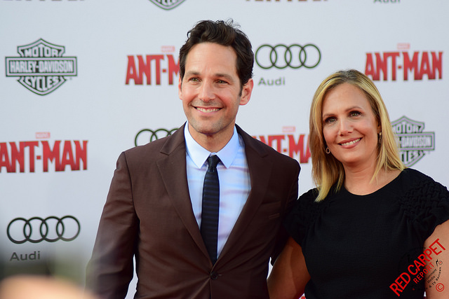 Paul Rudd at the red carpetpremiere of Ant Man