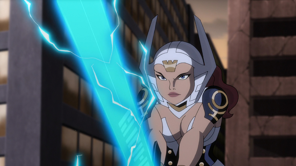 Bekka takes the name Wonder woman in gods and Monsters