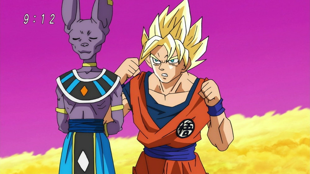 An example of the baffling quality of Dragon Ball Super
